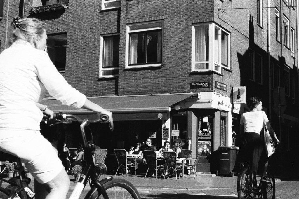 Dans les rues d'Amsterdam, Europe