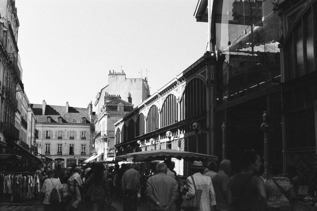 Les Halles à Dijon, France, Europe