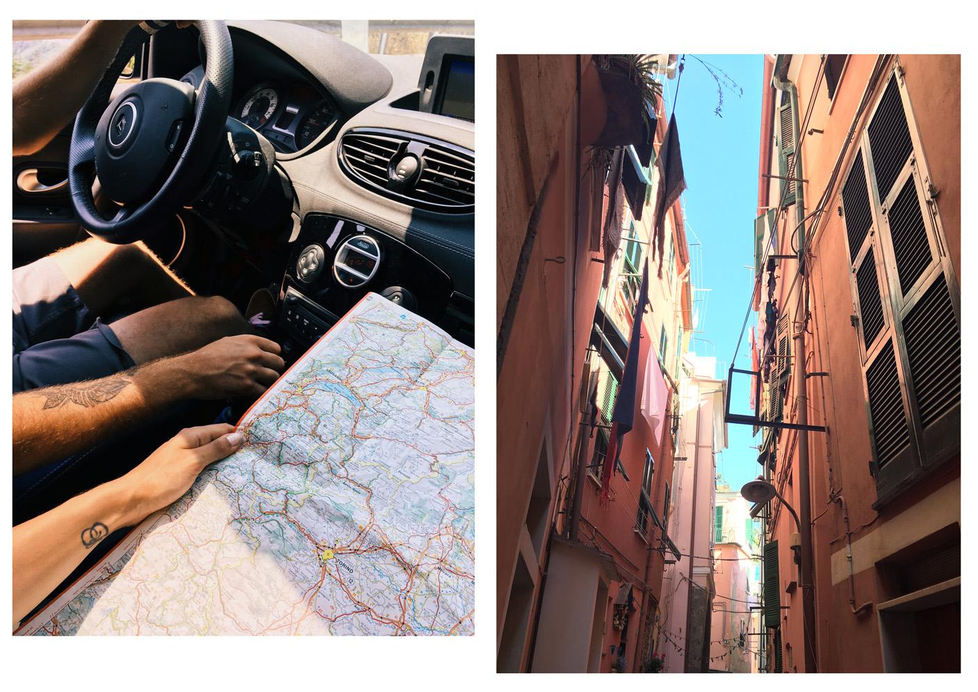 La beauté des Cinque Terre, quelques jours en Italie la carte routière sortie, Côté Hublot