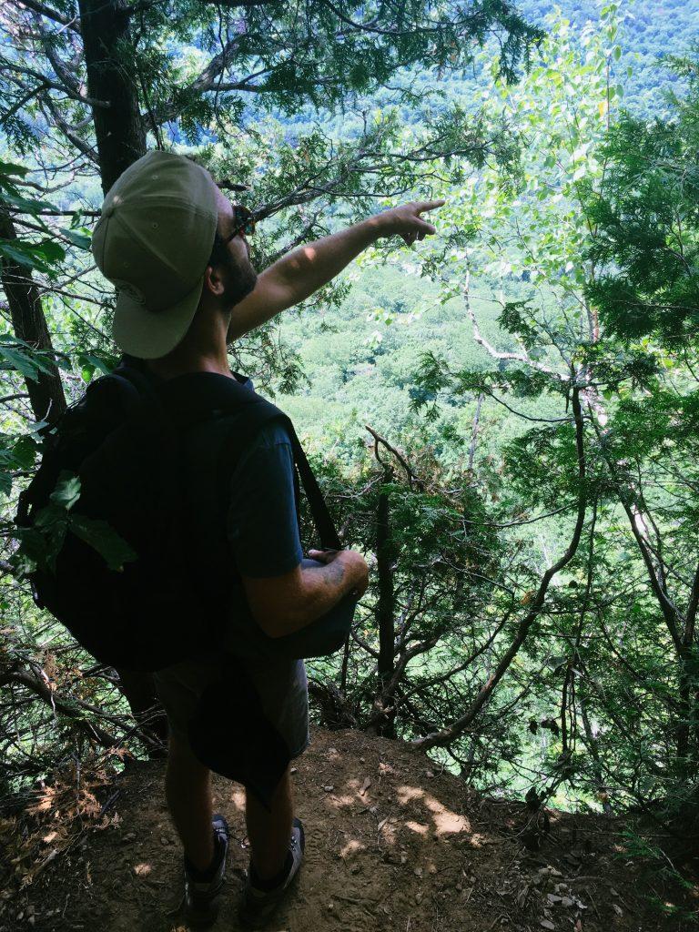 Ascension du Mont Pisgah
