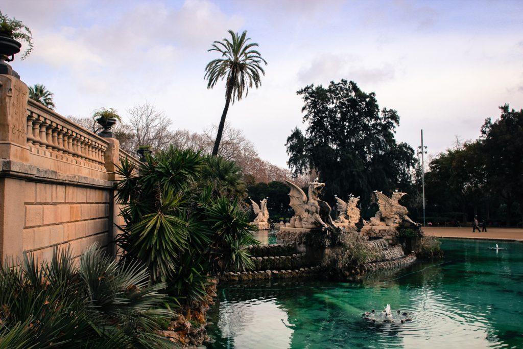 La Fontaine magique de Montjuïc, Barcelone, Côté Hublot