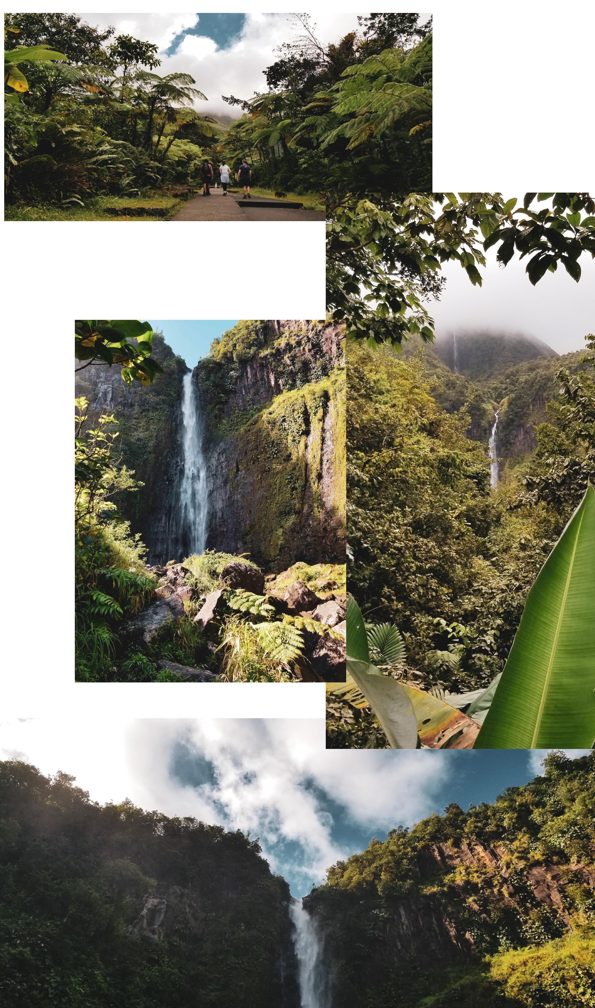 La Deuxième Chute du Carbet (Guadeloupe), par Côté hublot