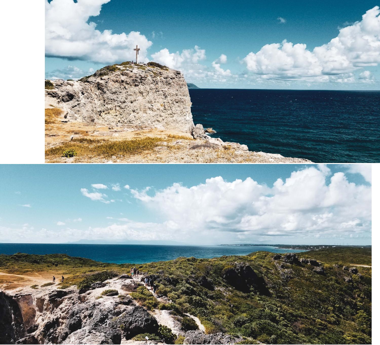 La péninsule de la Pointes des Chateaux