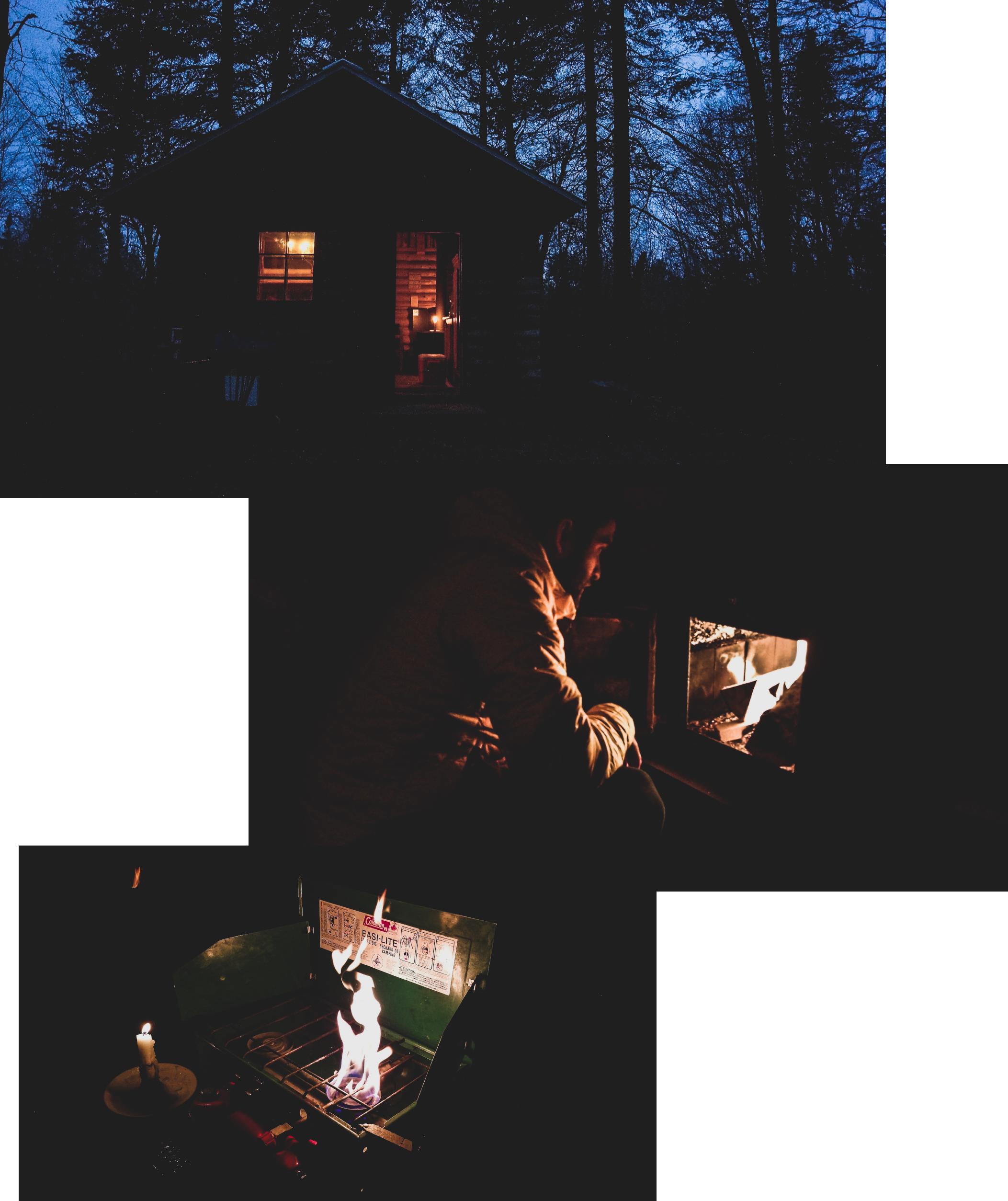 Entre Comes et Racines, la nuit, par Côté Hublot