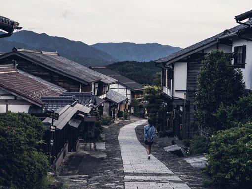 Le village de Magome, au coeur des Alpes Japonaises par Côté Hublot