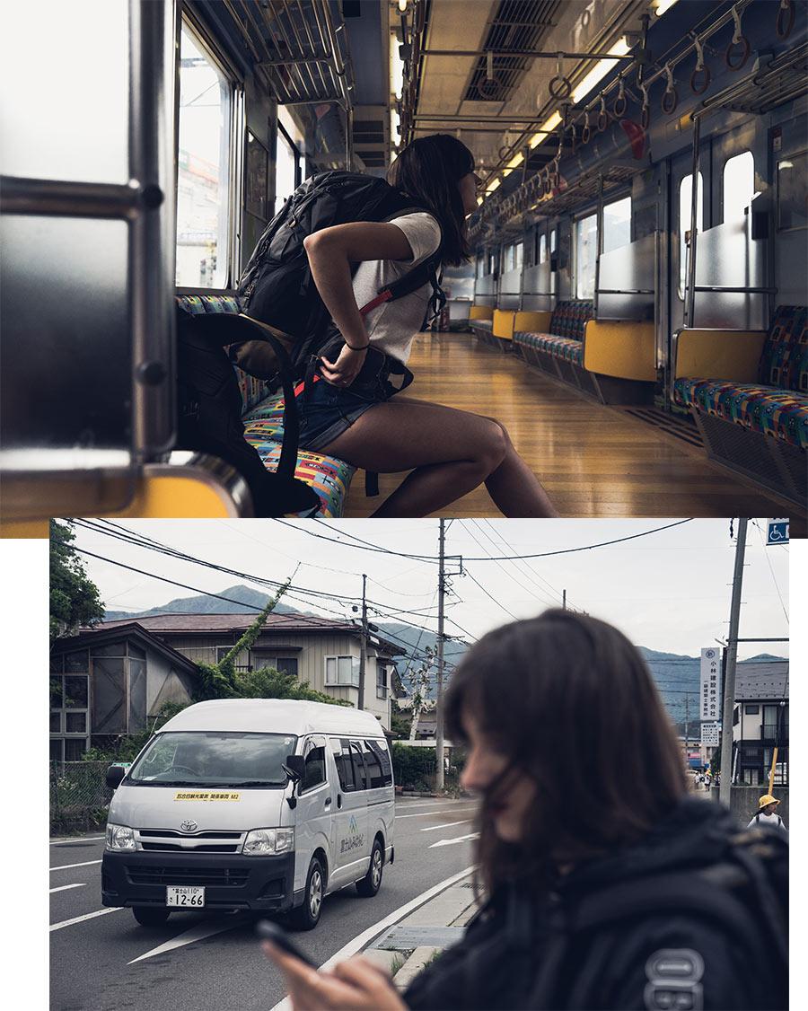 L'arrivée à Kawaguchiko, par Côté Hublot