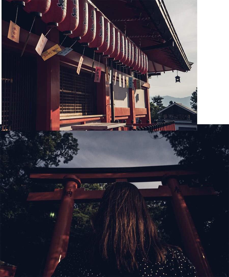 Le sanctuaire shinto Fushimi Inari-taisha, à Kyoto, par Côté Hublot
