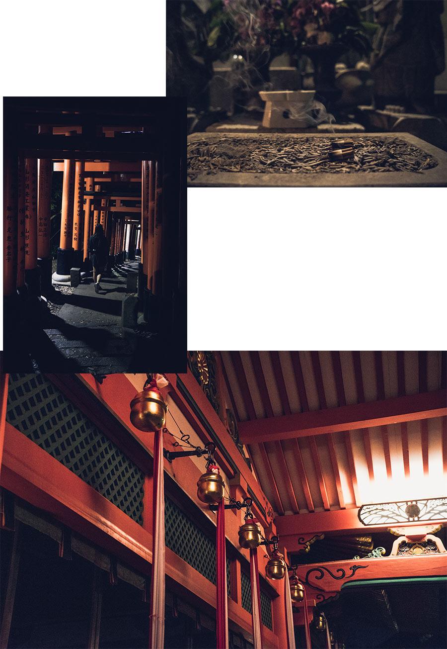 Une visite du sanctuaire shinto Fushimi Inari-taisha de nuit, à Kyoto, par Côté Hublot