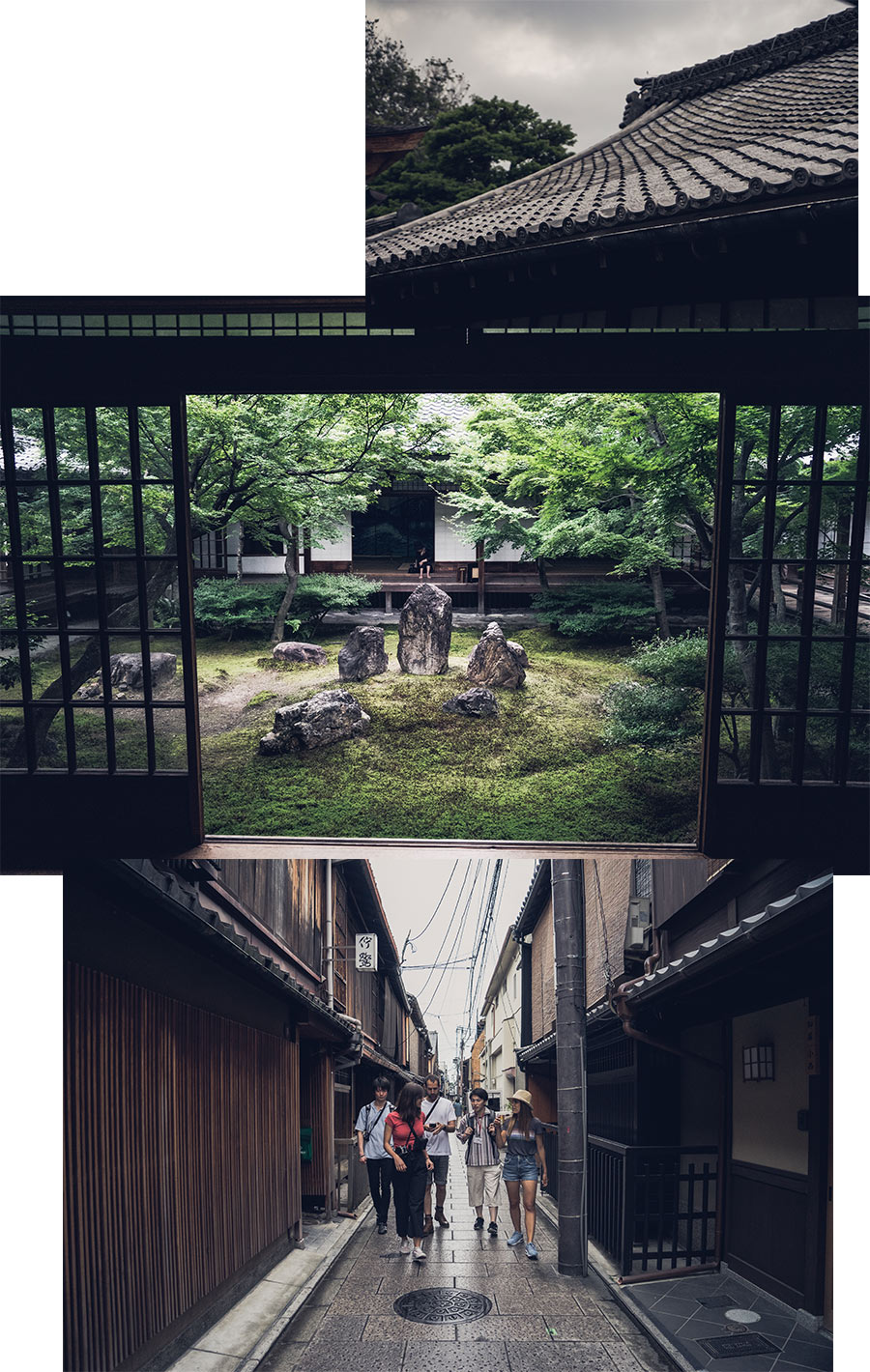 À travers les temples de Kyoto, par Côté Hublot