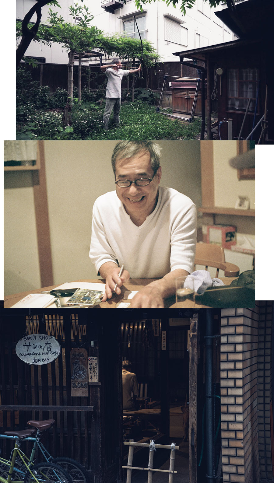 Rencontre de Kenji Santo dans son shop à Kyoto, par Côté Hublot