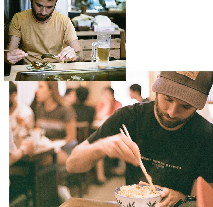 Des tas de restaurants essayer au Japon, Côté Hublot