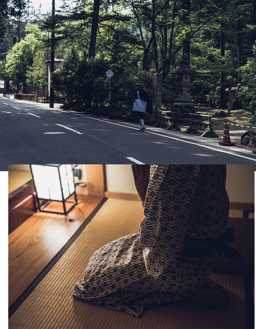 Notre arrivée à Koyasan (Japon), par Côté Hublot