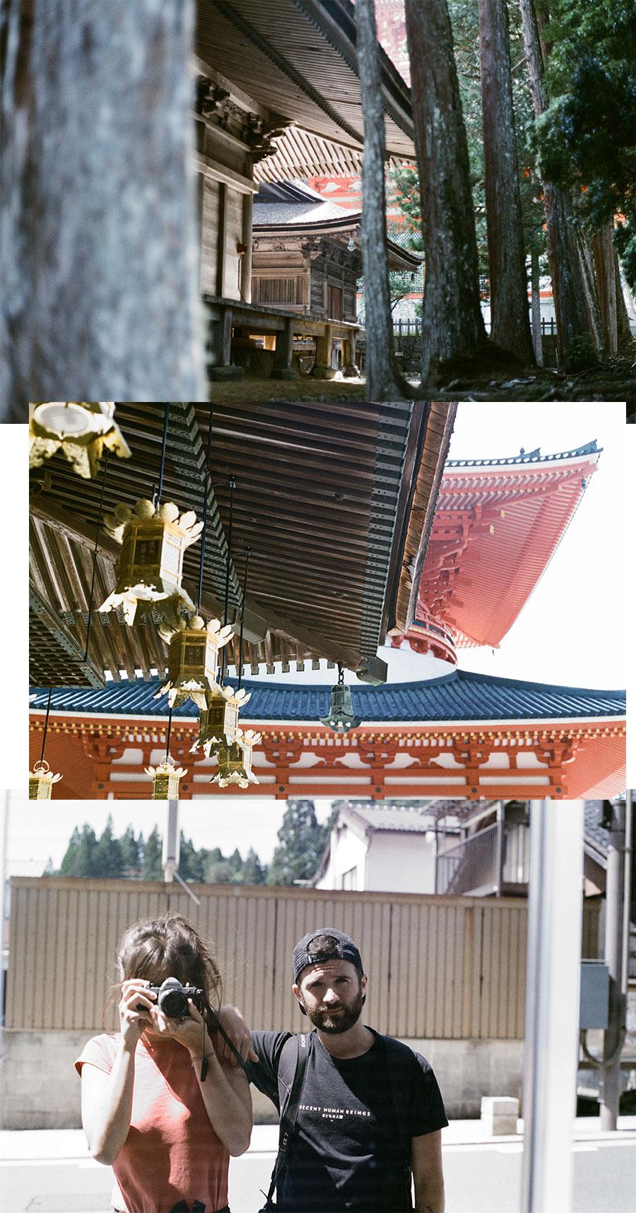 Le complexe Donjo Garan à Koyasan (Japon), par Côté Hublot