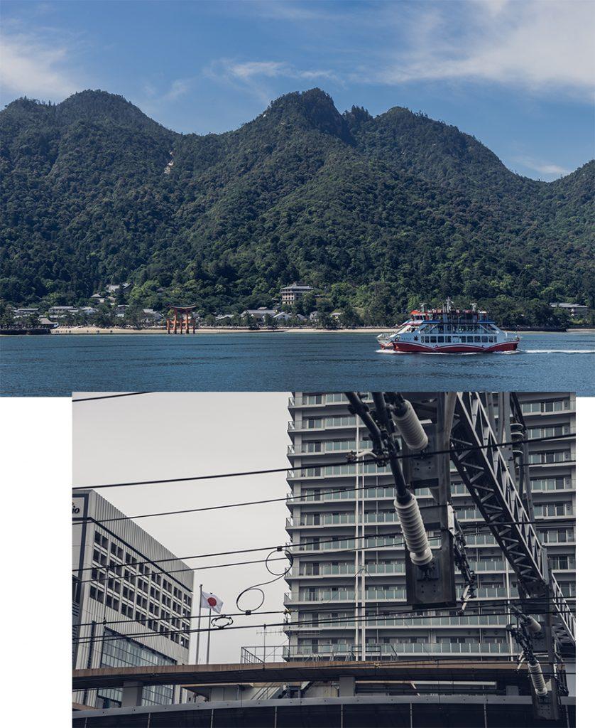 L'île de Miyajima et son ferry, par Côté Hublot