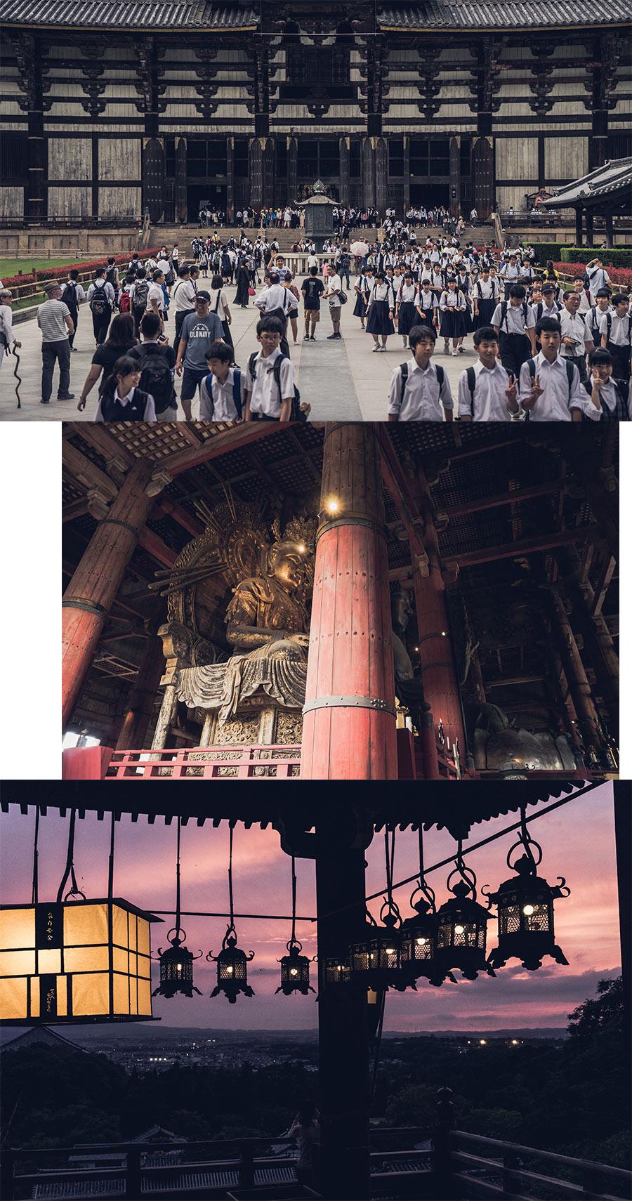 La ville de Nara et ses temples, par Côté Hublot