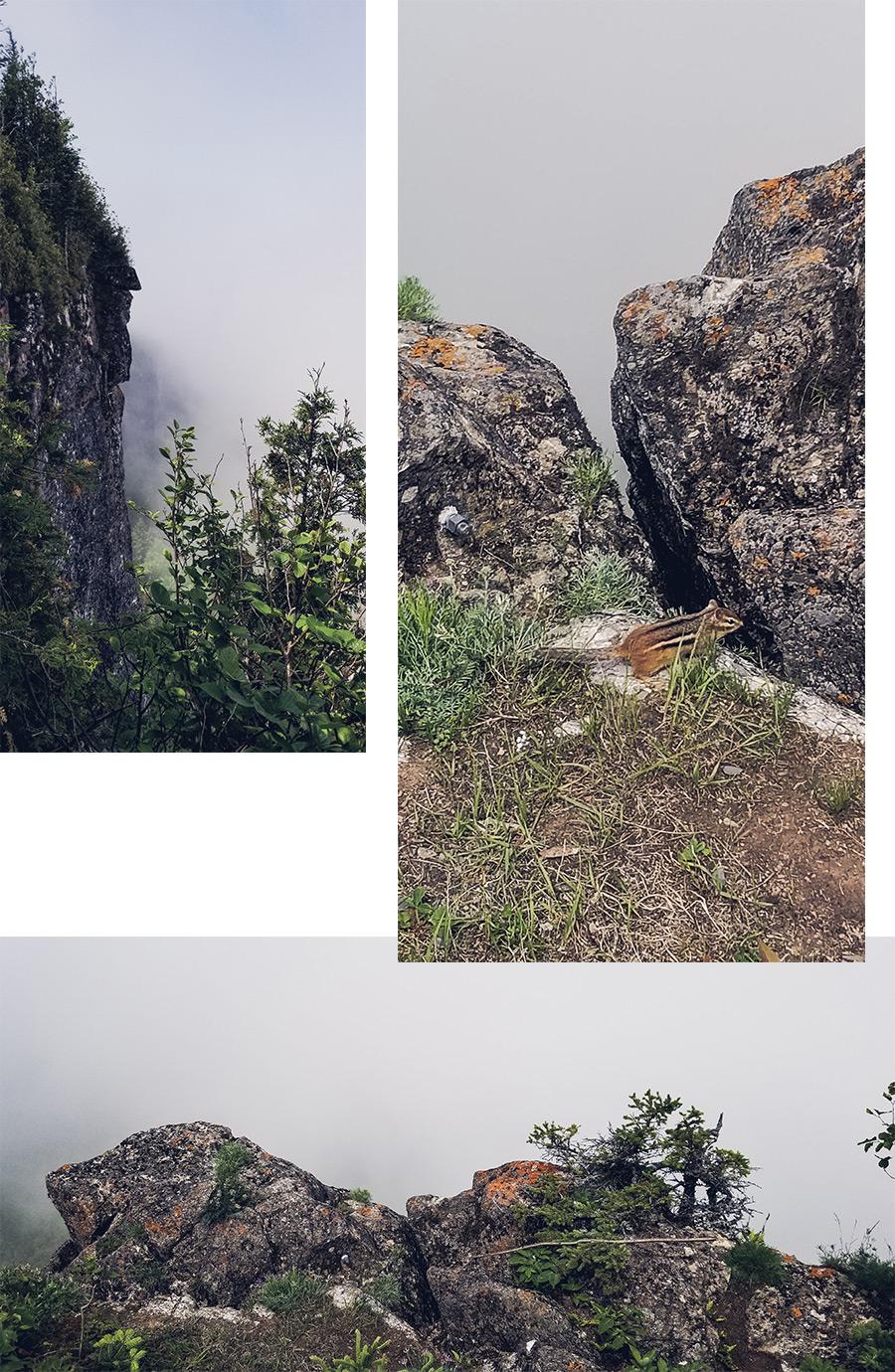 Le Pic Champlain, au coeur du Parc national du Bic, par Côté Hublot