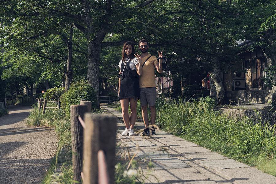 Promenade de la Philosophie, à Kyoto, Japon par Côté Hublot