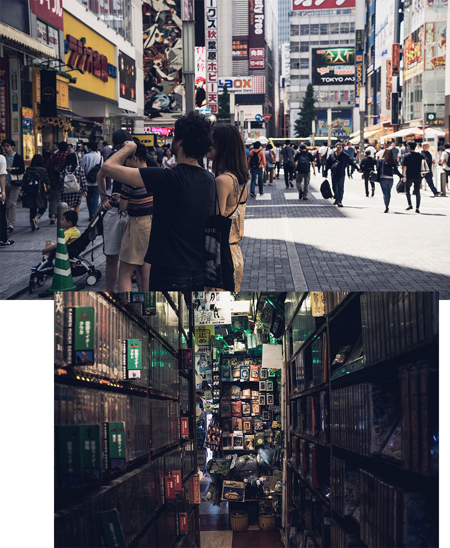 Le quartier d'Akihabara à Tokyo, par Côté Hublot