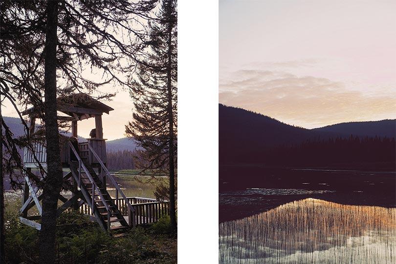 Observatoire du Lac Paul dans le Parc National de la Gaspésie, par Côté Hublot