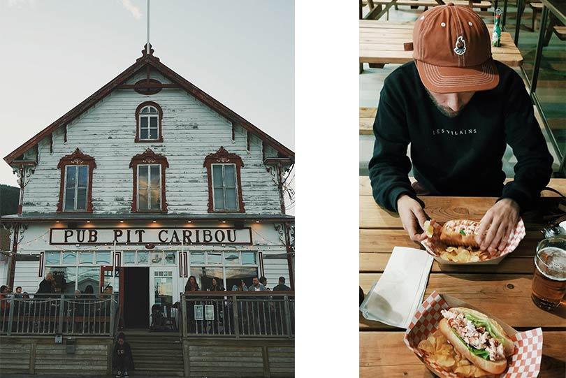 Le Pub du Pit Caribou et la poissonnerie, par Côté Hublot
