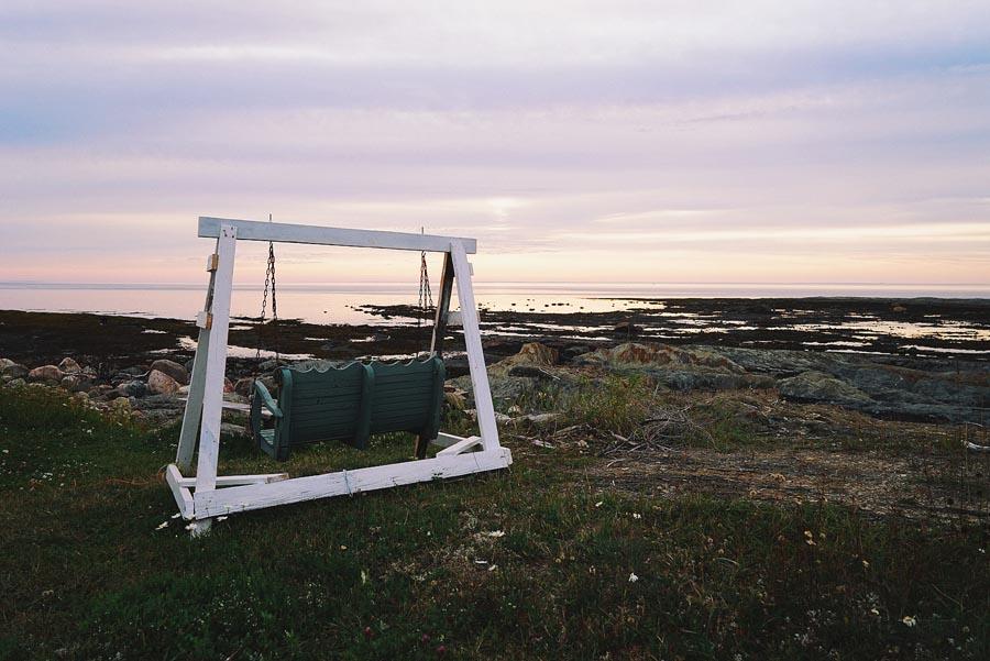 Un arrêt Pointe au Père, Rimouski, par Côté Hublot