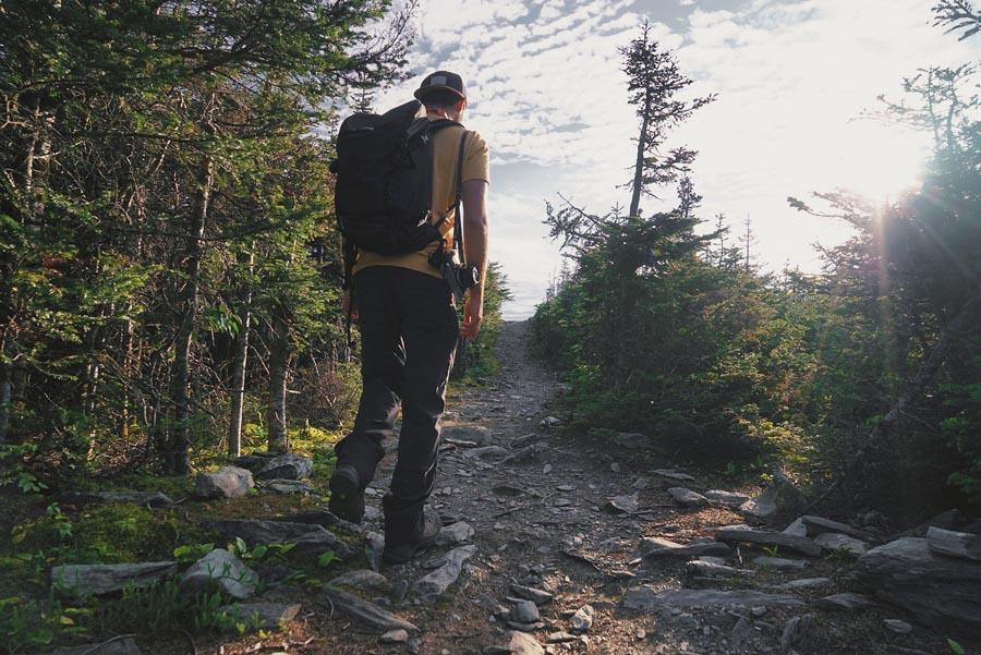 La randonnée du Pic de l'Aube, en Gaspésie, par Côté Hublot