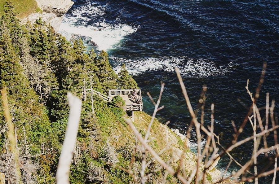 Le Bout du Monde, au Cap Gaspé, par Côté Hublot