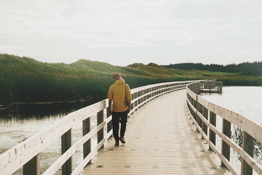Le Chemin des Dunes dur Parc National de l'Île du Prince Édouard, par Côté Hublot