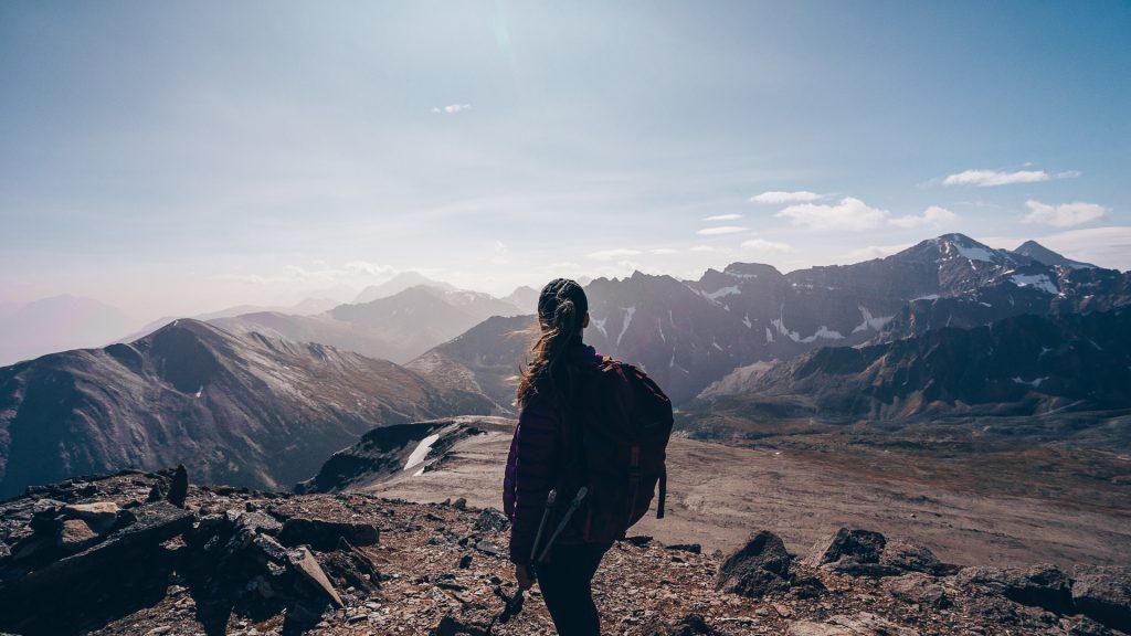 Sur les hauteurs de l'Indian Ridge Trail