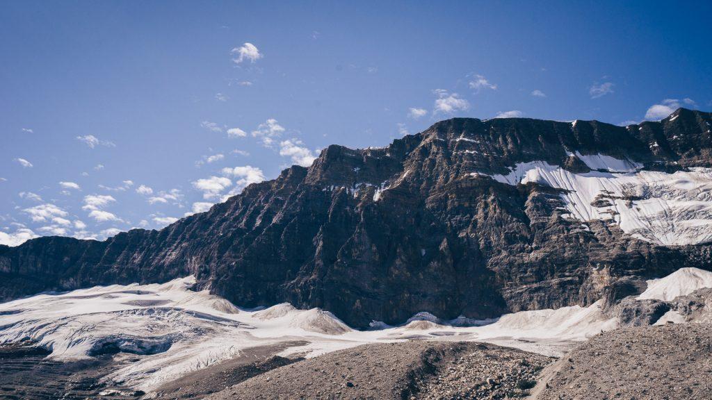 Les glaciers depuis la Iceline Trail dans le parc Yoho, par Côté Hublot
