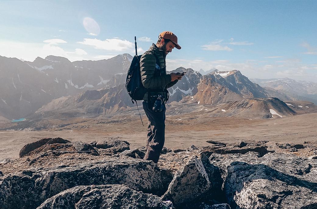 En recherche du bon chemin sur L'Indian Ridge Trail